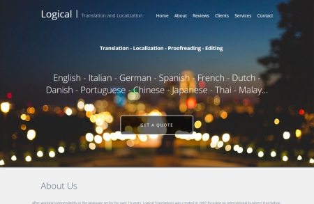 Logical Translations | Cameron Calcluth